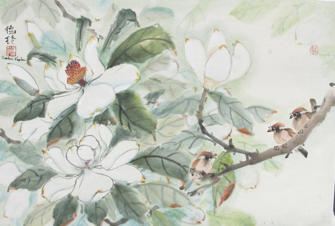 Online oriental brush painting  | Online Event | AllEvents.in