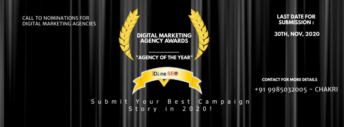 Digital Marketing Agency Awards   Online Event   AllEvents.in