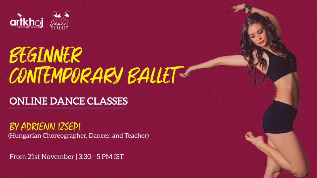 Beginner Contemporary Ballet - Online Dance Classes | Online Event | AllEvents.in