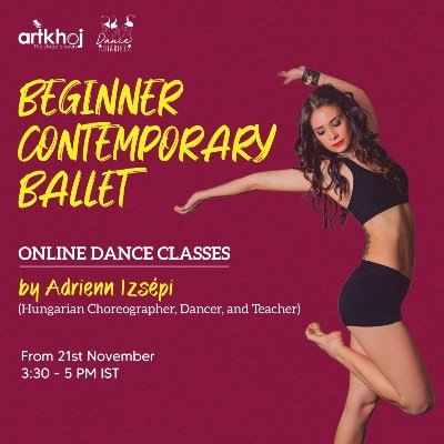 Beginner Contemporary Ballet - Online Dance Classes