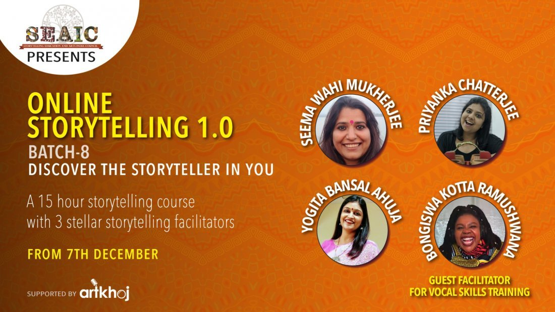 Foundation of Storytelling - Online Storytelling 1.0 Certification Course, 7 December | Online Event | AllEvents.in