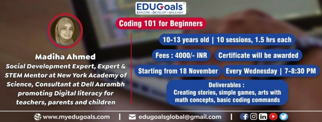 Coding 101 for Beginners | Online Event | AllEvents.in