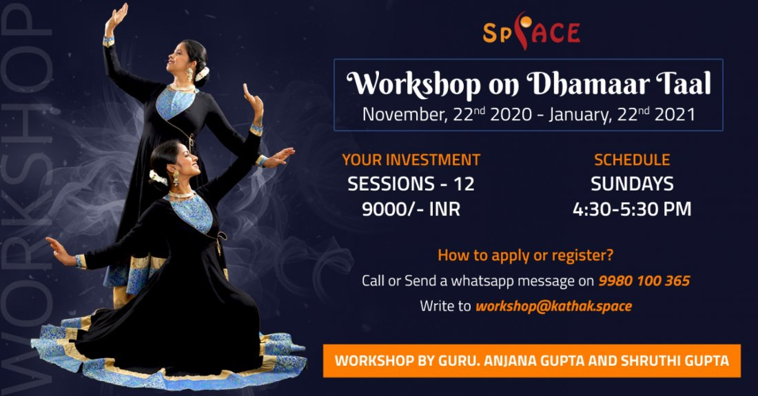 Workshop on Dhamaar taal - Empower yourself as a performing artist! | Online Event | AllEvents.in
