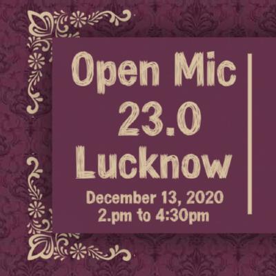 Aadab Arz Hai Open Mic 23.0 Lucknow