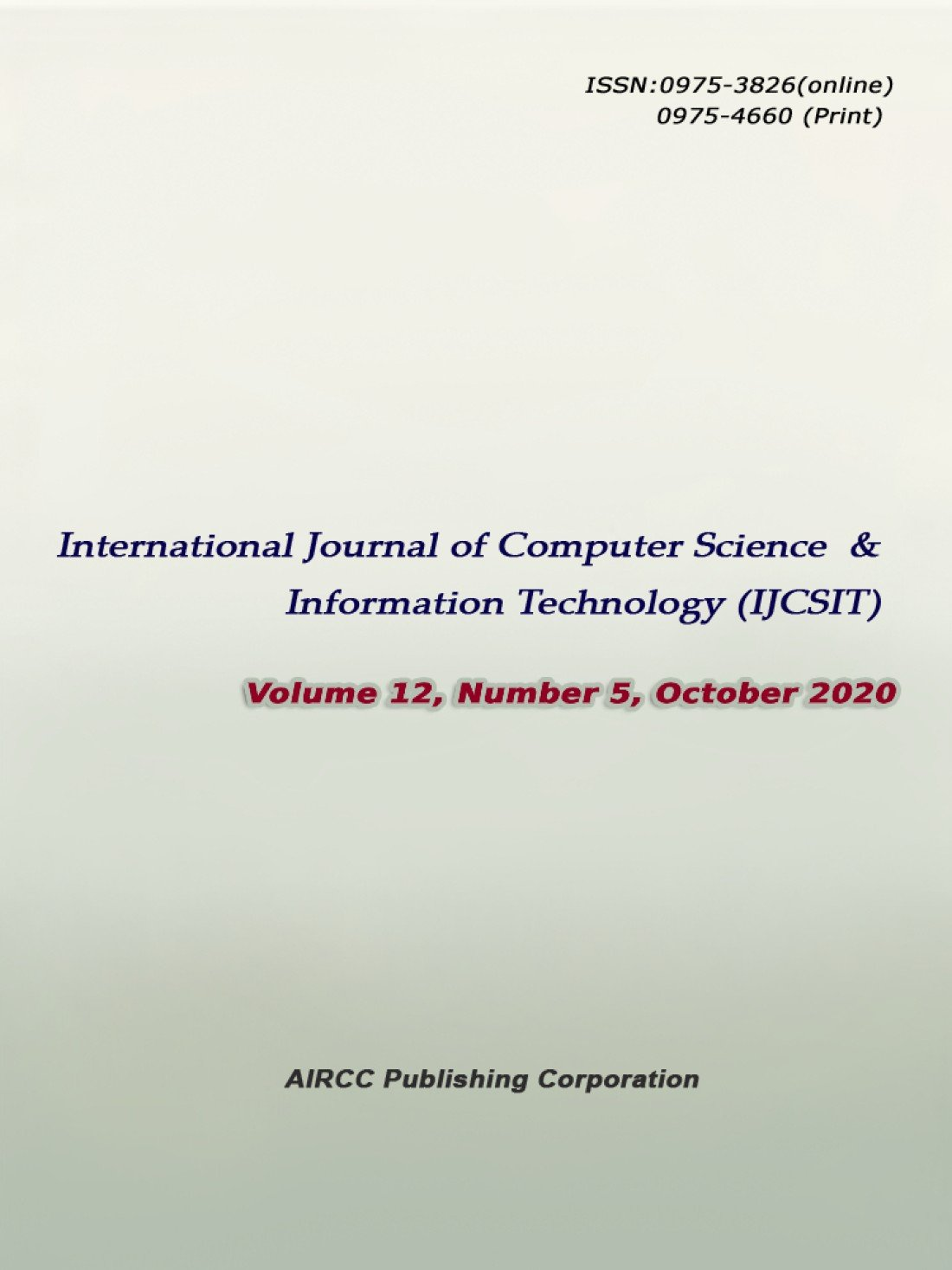 International Journal of Computer Science and Information Technology (IJCSIT), 24 February | Online Event