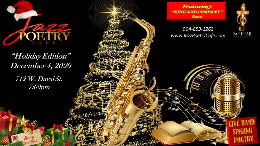 """Jazz Poetry Cafe // """"Holiday Edition"""", 4 December   Event in Jacksonville   AllEvents.in"""