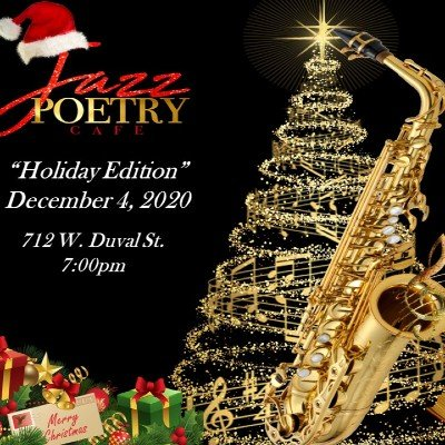 Jazz Poetry Cafe  Holiday Edition