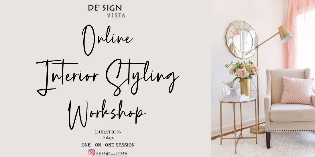 Online Interior Styling Workshop   Online Event   AllEvents.in