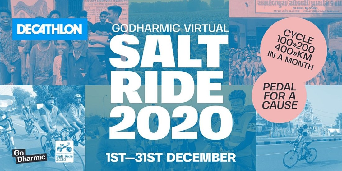VIRTUAL SALT RIDE | Online Event | AllEvents.in