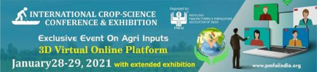 International Crop Science Conference & Exhibition, 28 January | Online Event | AllEvents.in