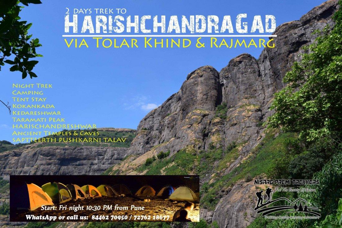 Night Trek Harishchandragad Kokankada Camping on 20 21 feb ...