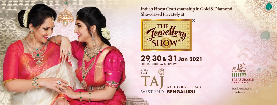 THE JEWELLERY SHOW BENGALURU 2021, 29 January | Event in Bangalore | AllEvents.in