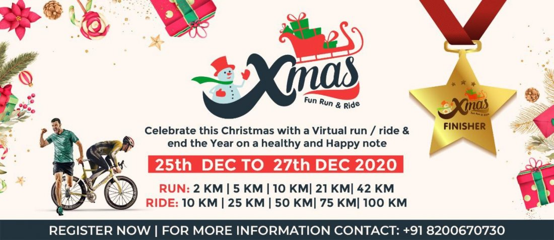 Y102.5 Christmas Events 2021 X Mas Fun Run Ride December 25 To December 27 Online Event Allevents In