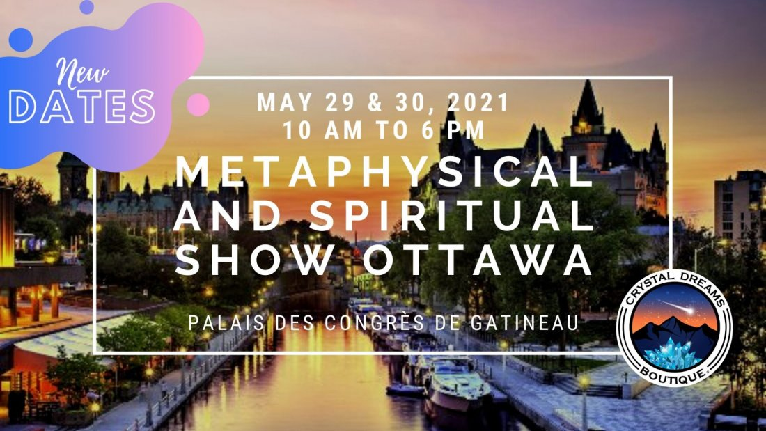 Le Salon Métaphysique et Spirituel d'Ottawa par Crystal Dreams, 29 May | Event in Gatineau | AllEvents.in