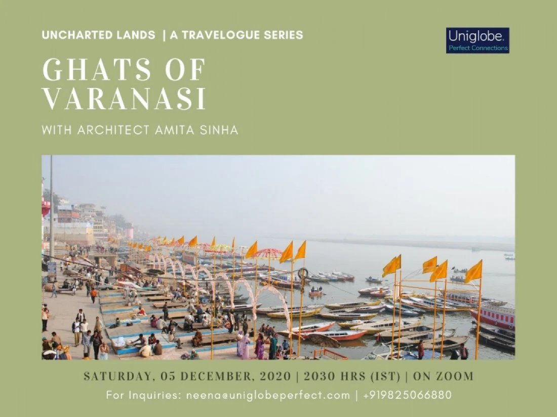 The Ghats of Varanasi (Recorded Video) | Online Event | AllEvents.in