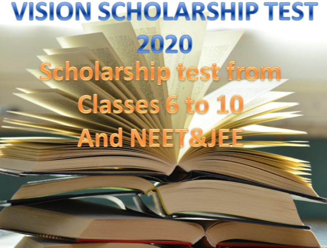VISION SCHOLARSHIP TEST 2021, 7 March | Online Event | AllEvents.in