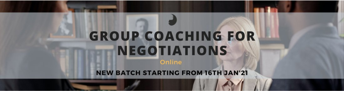 Group Coaching for Negotiations- Online | Online Event | AllEvents.in