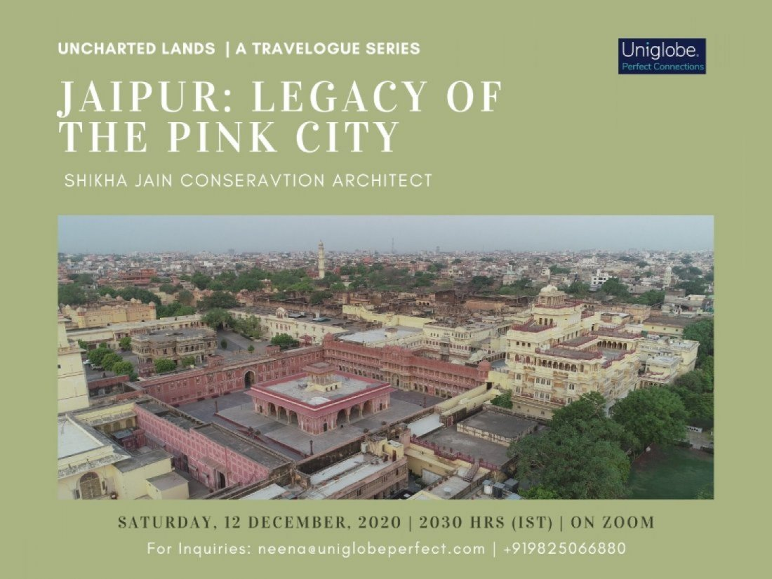 Jaipur: Legacy of the Pink City, 11 June | Online Event | AllEvents.in