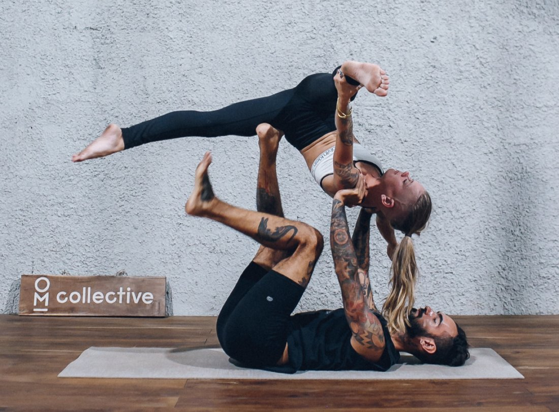 Acrotravels Acroyoga at OM Collective | Event in Tulum | AllEvents.in
