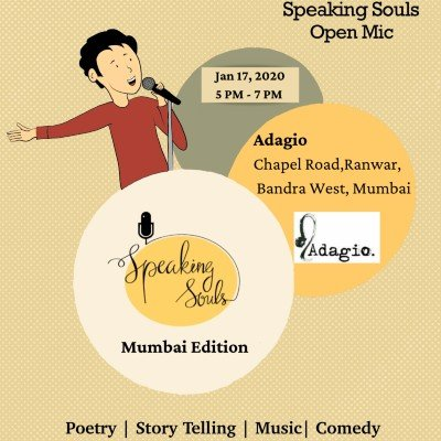 Speaking Souls  Mumbai Open Mic