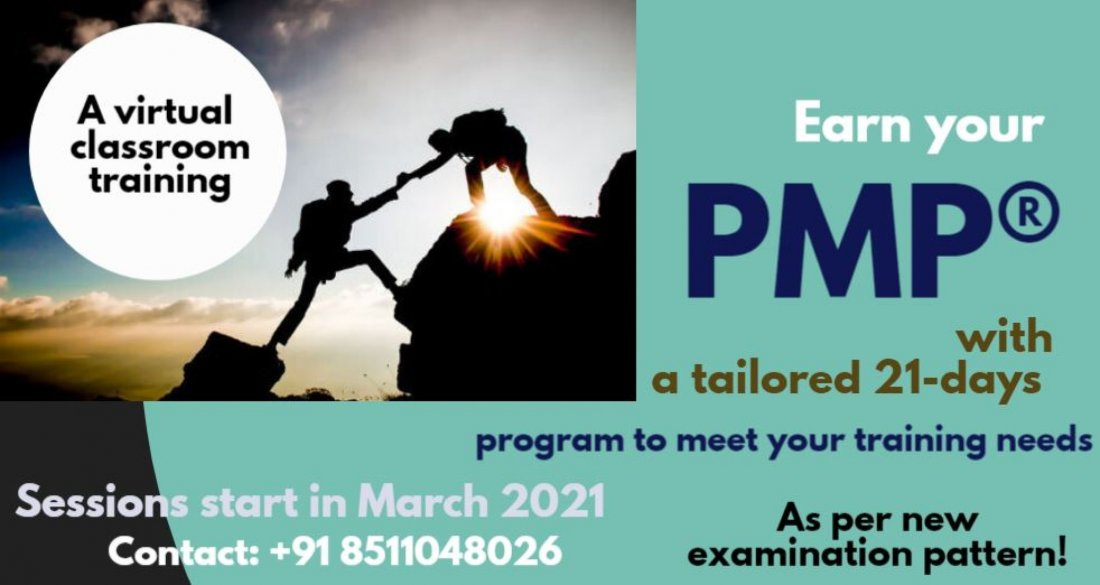 ONLINE PMP Workshop - March 2021 , 11 March | Online Event | AllEvents.in