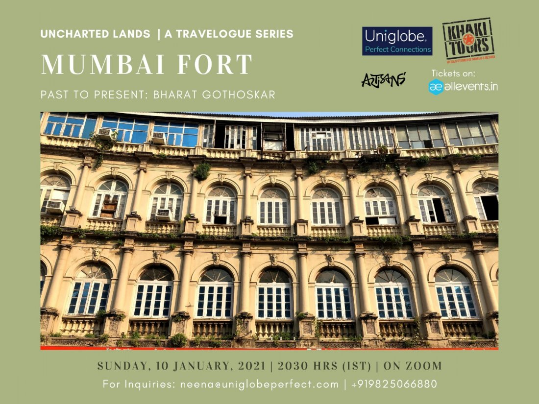 Mumbai Fort: Past to Present, 11 June | Online Event | AllEvents.in