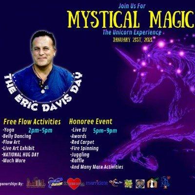 MYSTICAL MAGIC THE UNICORN EXPERIENCE celebrating Eric Davis Day 121 (outdoors)