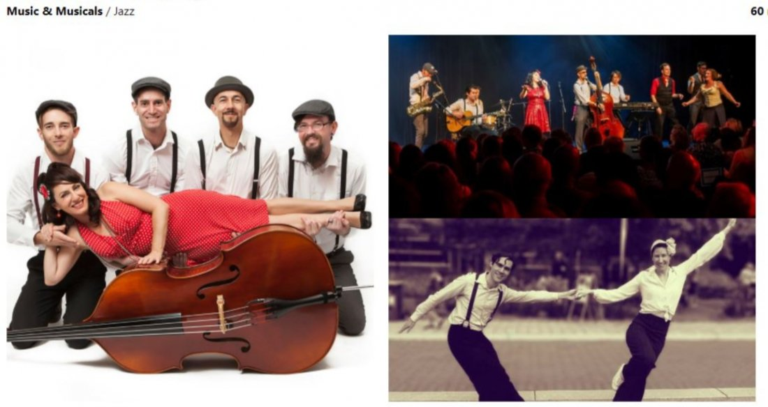 Fringe World: The Stories of Swing | Event in Perth | AllEvents.in