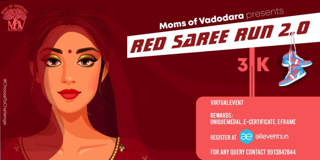 RED SAREE RUN - WOMEN'S DAY RUN, 8 March | Online Event | AllEvents.in