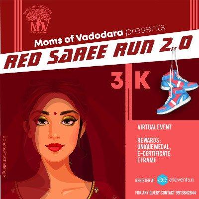 RED SAREE RUN - WOMENS DAY RUN