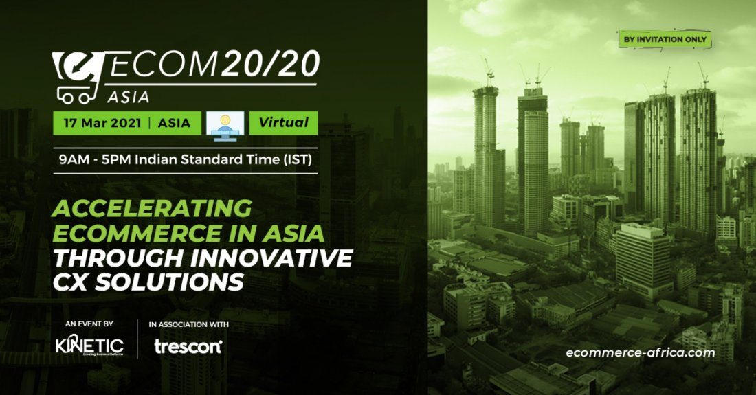 ECOM 20/20 Asia, 17 March | Online Event | AllEvents.in