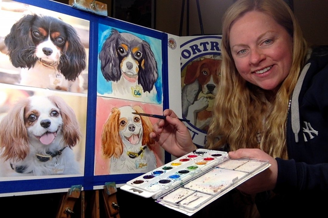 Paint Night SIP and PAINT A PET PORTRAIT FUN- Online | Online Event | AllEvents.in