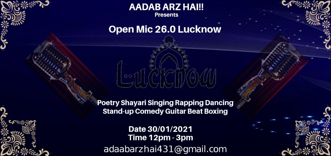 Open Mic 26.0 Lucknow | Event in Lucknow | AllEvents.in