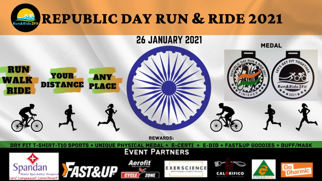 REPUBLIC DAY RUN & RIDE 2021 | Online Event | AllEvents.in