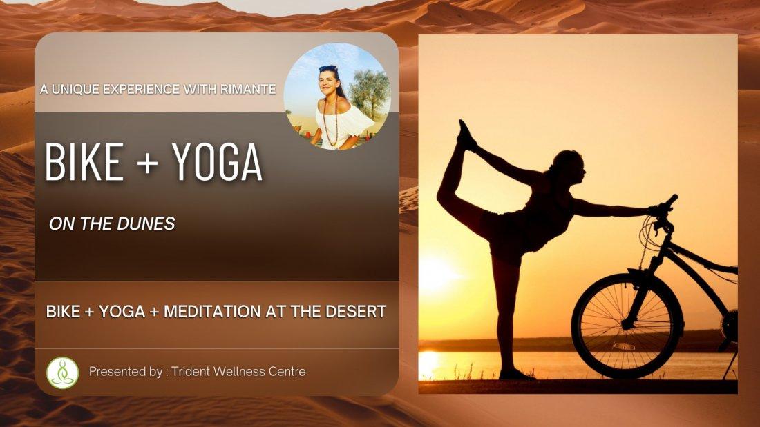 Bike + Yoga + Meditation at the Desert   Event in Dubai   AllEvents.in