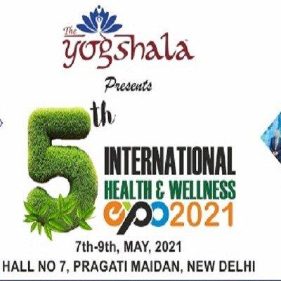 5th International Health & Wellness Exhibition The Yogshala Expo 2021