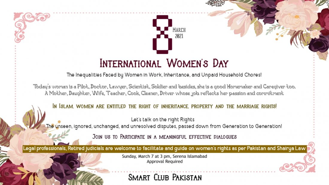 International Women's Day 2021 Islamabad, 7 March | Event in Islamabad | AllEvents.in