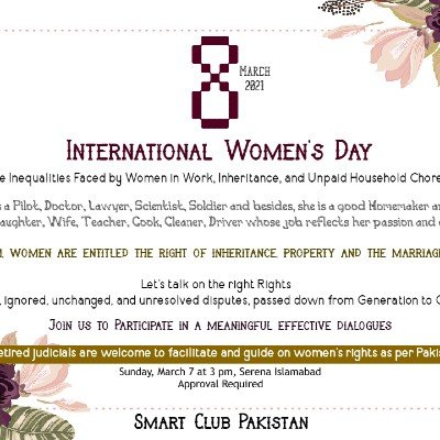 International Womens Day 2021 Islamabad