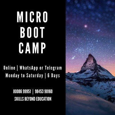 Micro Boot Camp