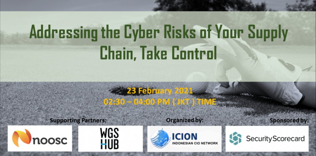 Addressing the Cyber Risks of Your Supply Chain, Take Control | Online Event | AllEvents.in