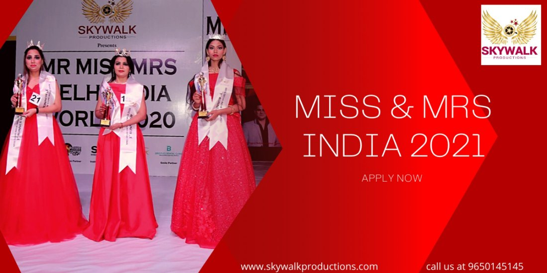 Miss & Mrs India 2021 Apply Now  | Event in New Delhi | AllEvents.in