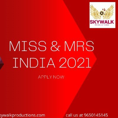Miss & Mrs India 2021 Apply Now