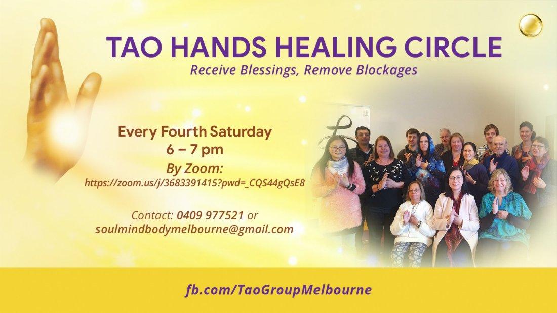 Tao Hands Healing Circle , 25 September | Online Event | AllEvents.in