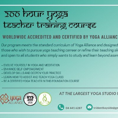 200 Hour Yoga Teacher Training  Yoga Alliance Certified Course