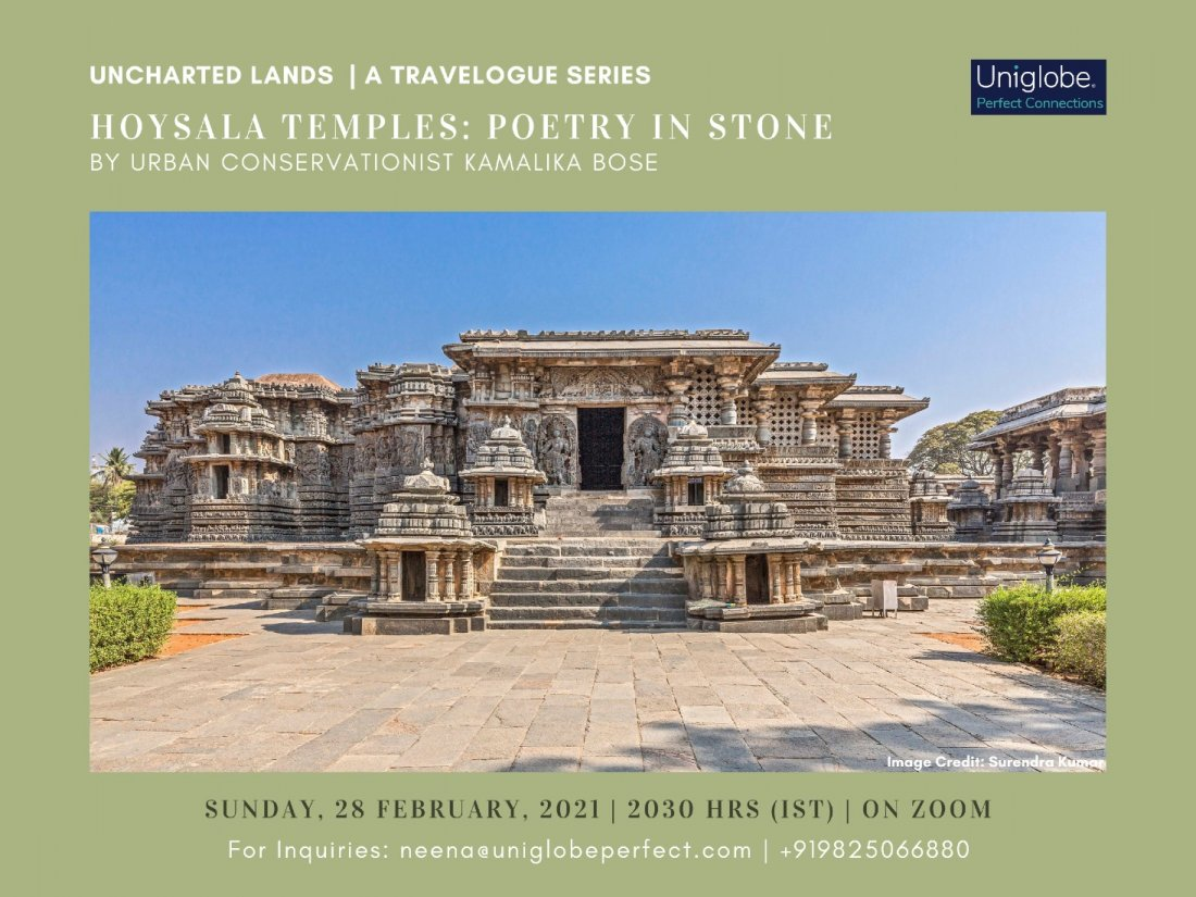 Hoysala Temples: Poetry in Stone- Postponed, 24 April | Online Event | AllEvents.in