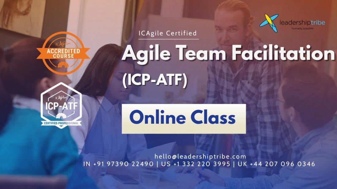 Agile Team Facilitation (ICP-ATF) | Virtual Classes - June 2021, 22 June | Online Event | AllEvents.in