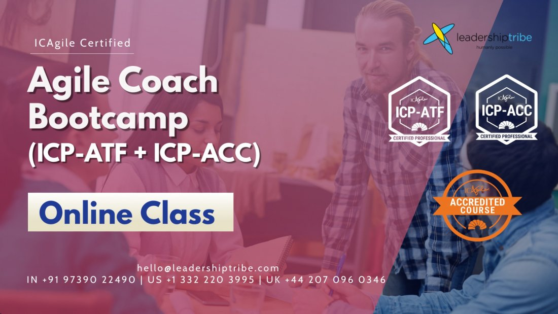 Agile Coach Bootcamp - Global -  Part Time - August 2021, 17 August | Online Event | AllEvents.in
