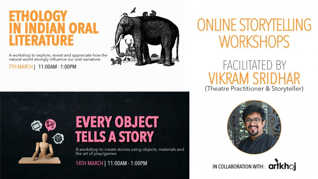 Online Storytelling Workshops by Vikram Sridhar | Online Event | AllEvents.in