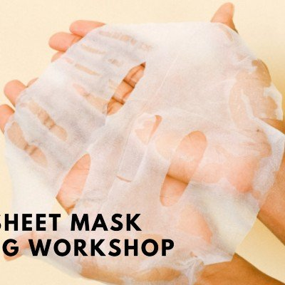 Face sheet mask Making