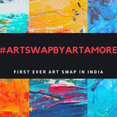 First Ever National Art Swap in India by Art Amore